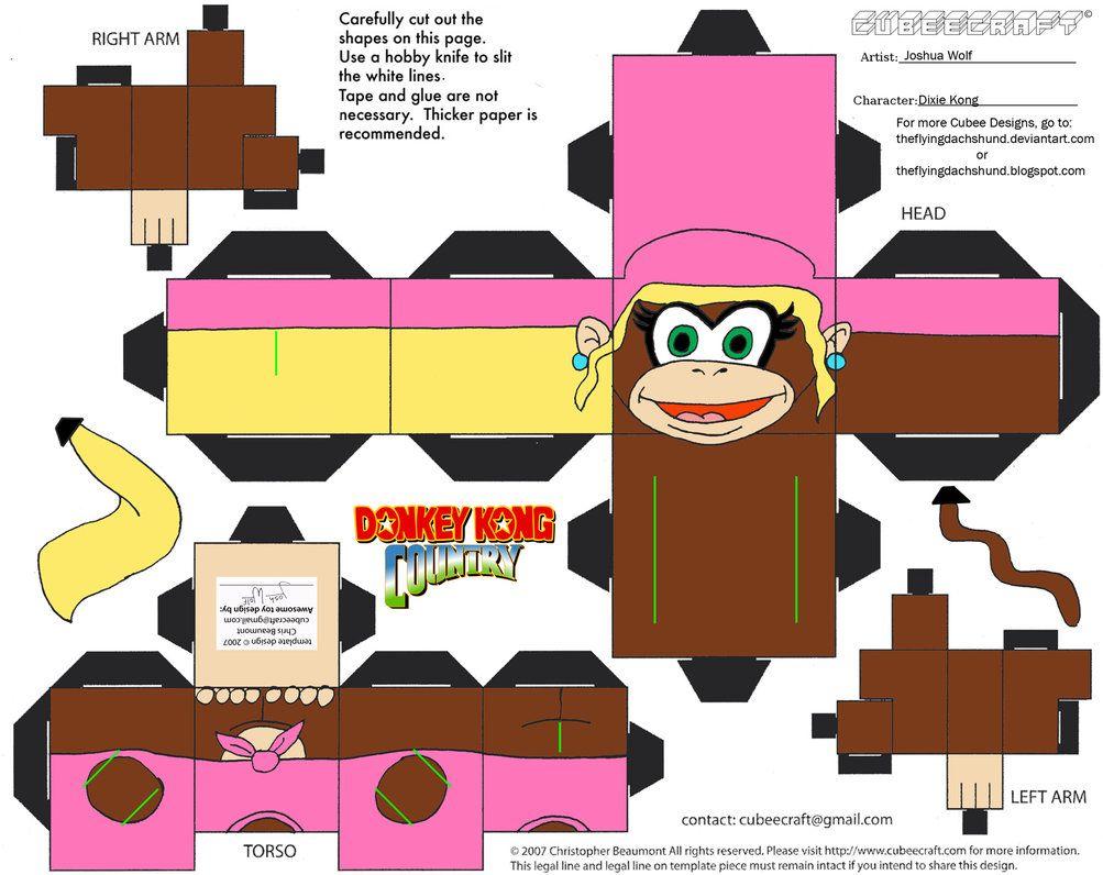 Pin On Donkey Kong Printables