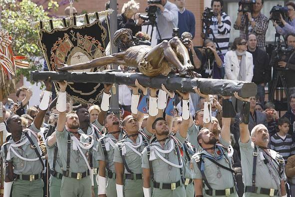 Cristo De La Legion Malaga La Legion La Legion Española Paisajes De España