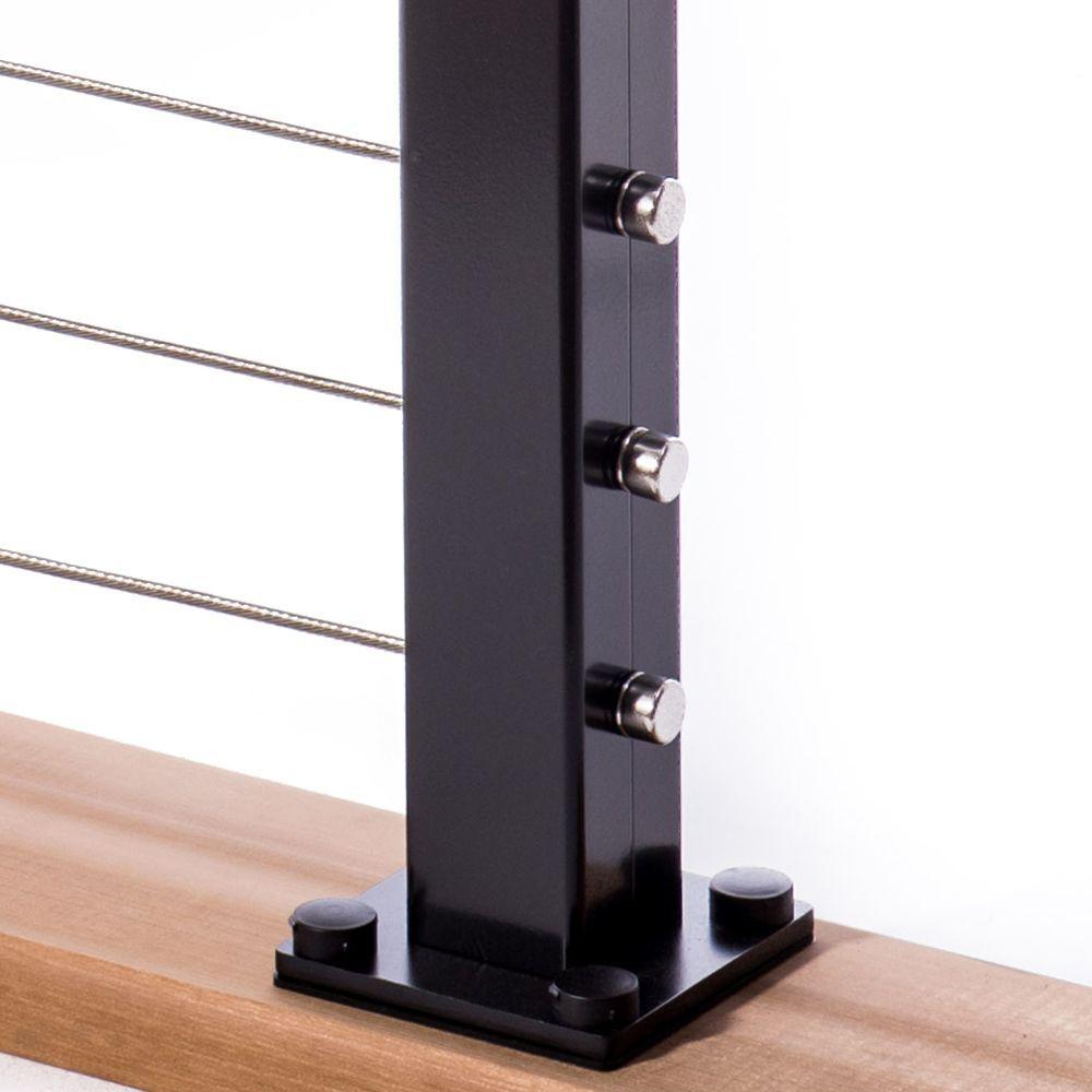 Cable Railing Posts | deck railing | Pinterest | Cable railing ...