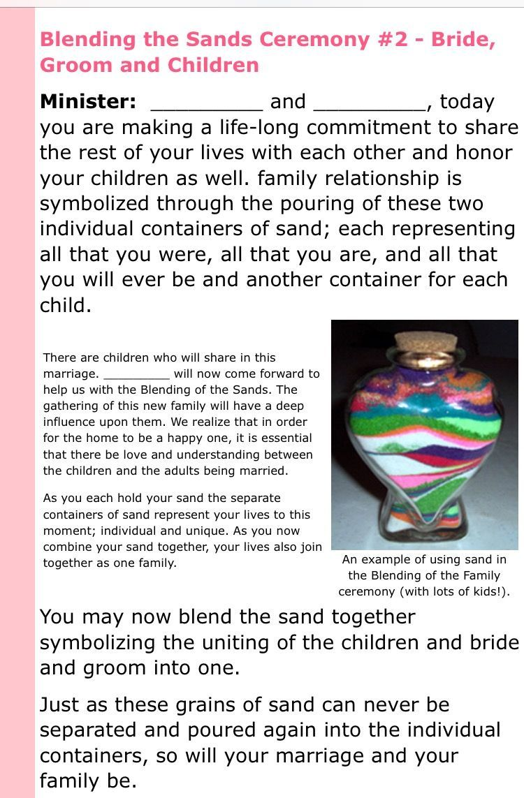 Template For Unity Sand And Blended Family In 2019