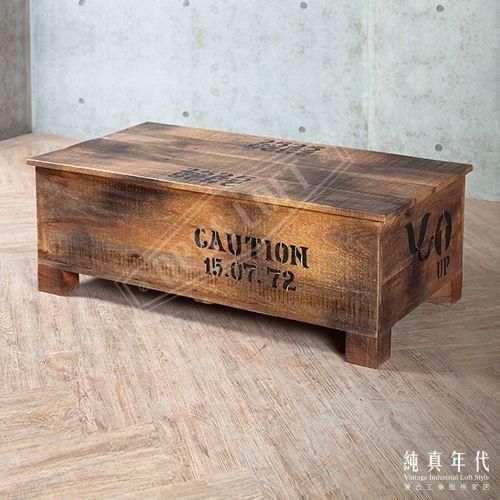 【OPUS LOFT】復古工業風 酒箱 置物桌紅酒箱造型的置物桌,讓你平淡的空間,增加了一點歷史的配件,使用之餘同時兼具造型功能。