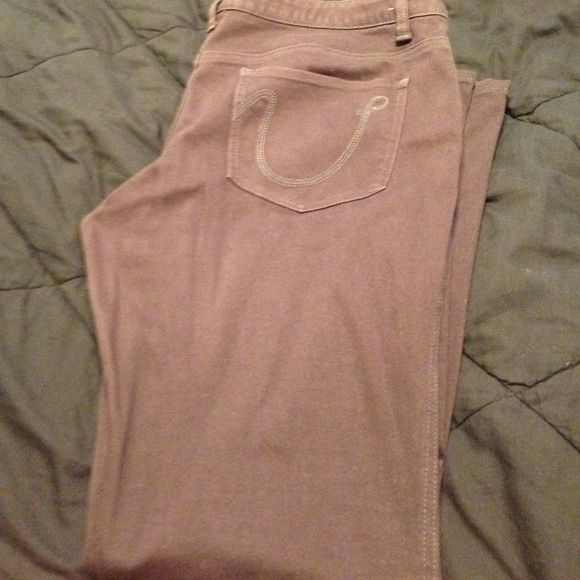 brown skinny jeans Good condition skinny jeans Up Jeans Skinny