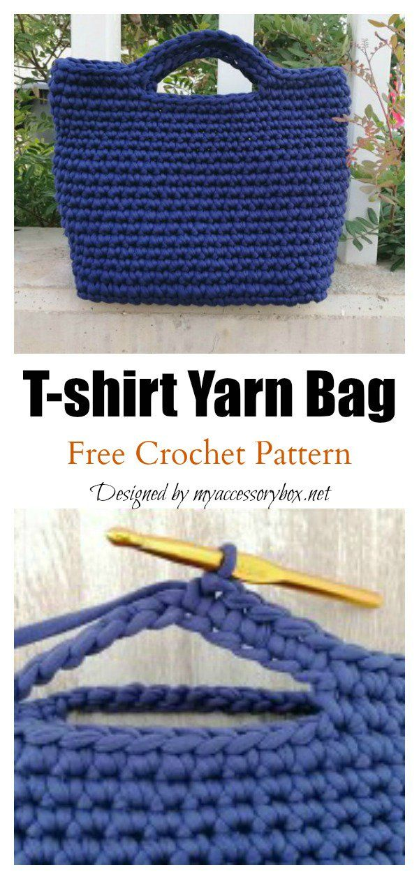 4 Classic Tote Bag Free Crochet Patterns