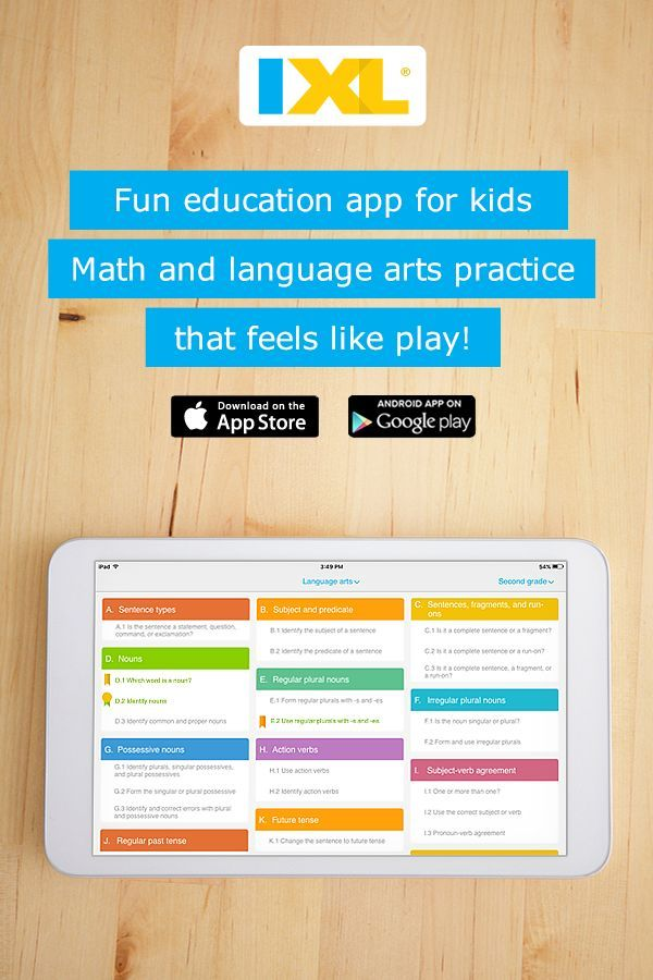 Math and language arts practice at your fingertips! Free