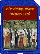 International MI Art, India series, moving images memart card for the digital picture frame. Find previews @ 3vpmiart.com