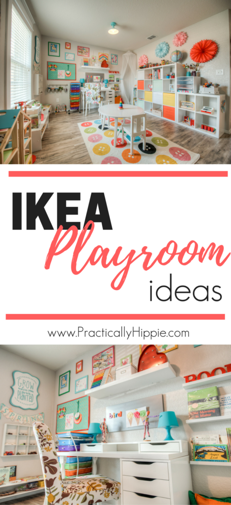 Our bright & cheerful IKEA playroom - Rooted Childhood