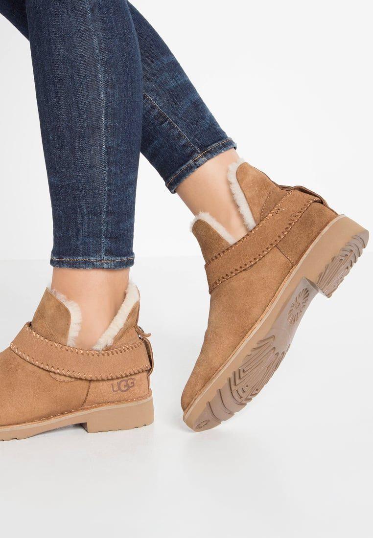 UGG MCKAY - Boots à talons - chestnut - ZALANDO.FR