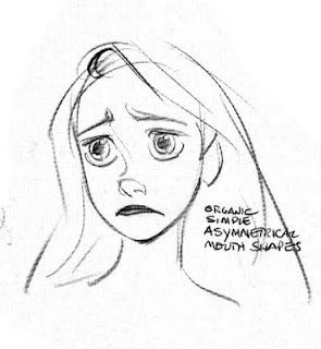 Glen Keane. Just, the facial expression, I can feel the