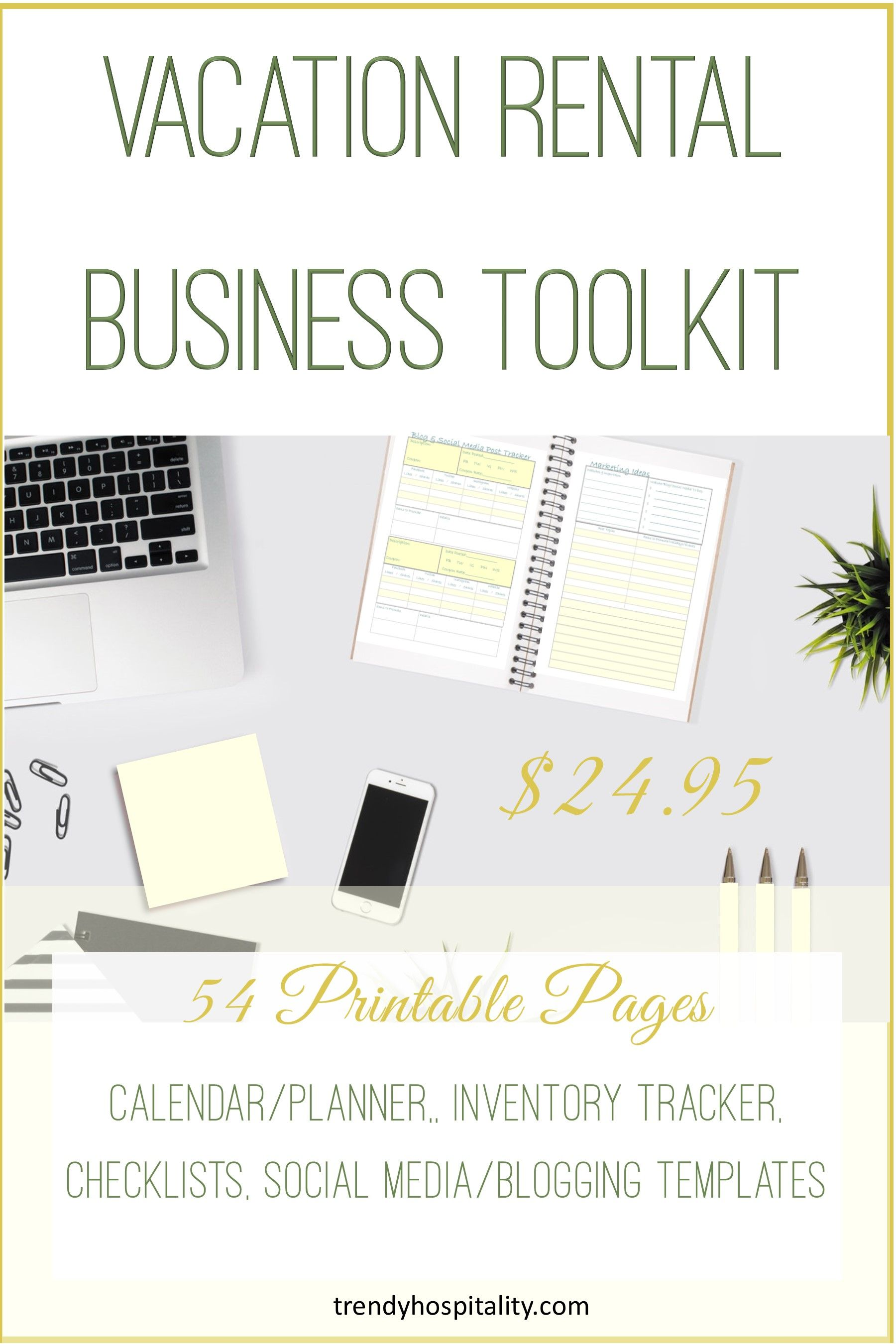 Vacation Rental Business Toolkit Vacation Rental Business Vacation Rental Management Property Management Marketing Vacation rental business plan template