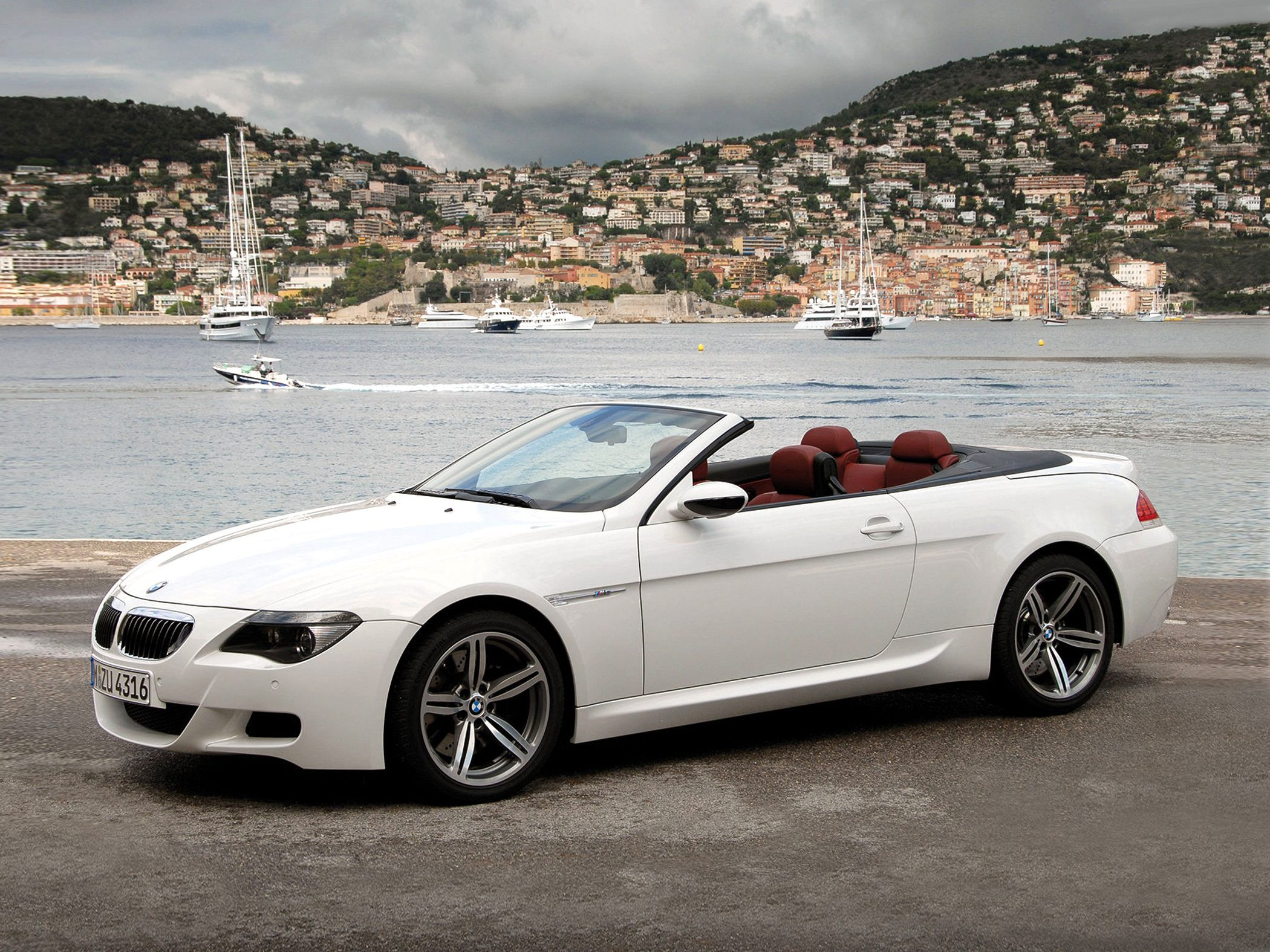 Own a BMW M6 convertible.