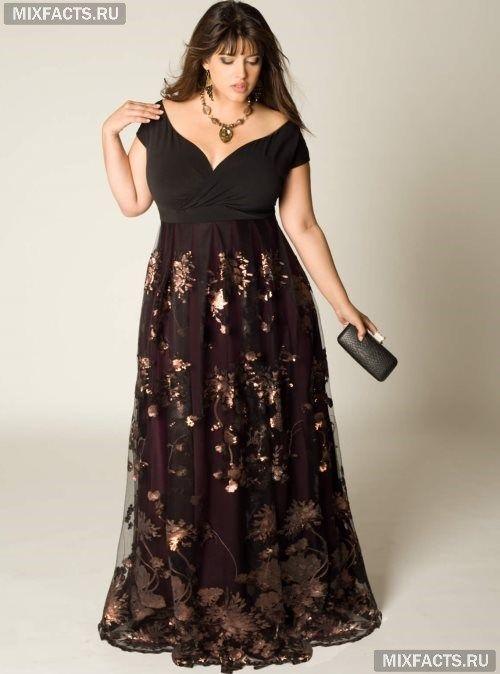 Где купить в москве вечернее платье для полных женщин в