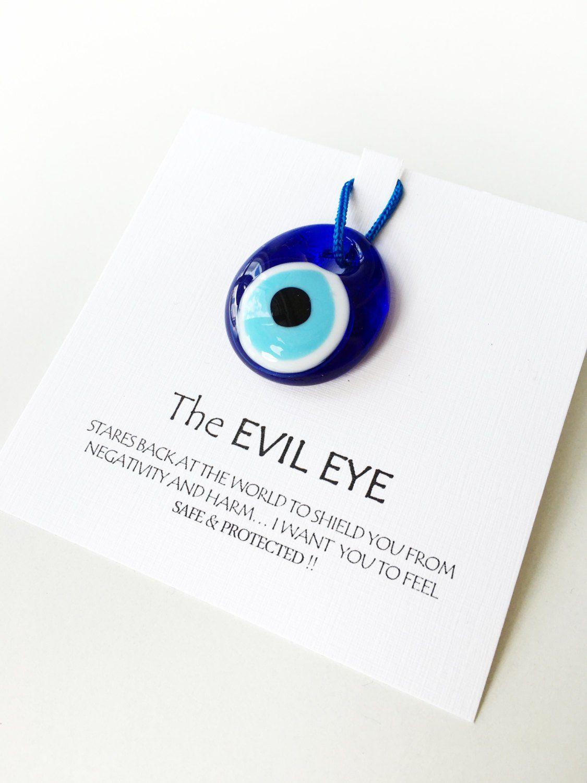5pcs Unique wedding favors - evil eye bead 3.5cm with card - nazar ...