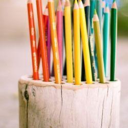opbergen van potloden, stiften, ... (eventueel op rij = overzichtelijker)