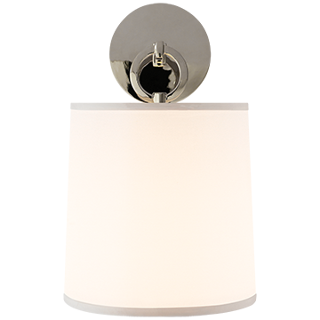 Above Mantels Stairwell Upstairs Hallway Option French Cuff Sconce In Polished Nickel With