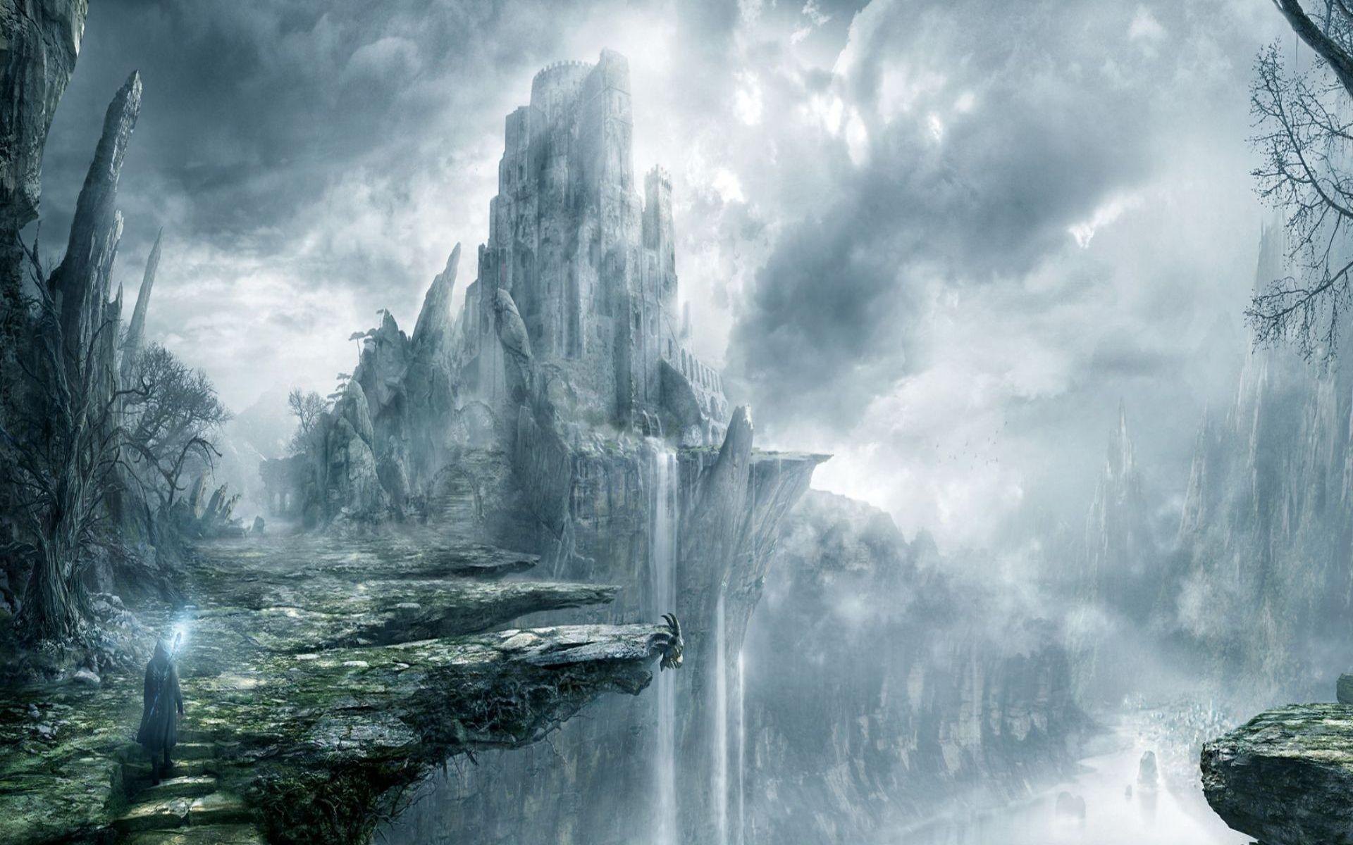 Related Image Fantasy Landscape Fantasy Castle Landscape Wallpaper