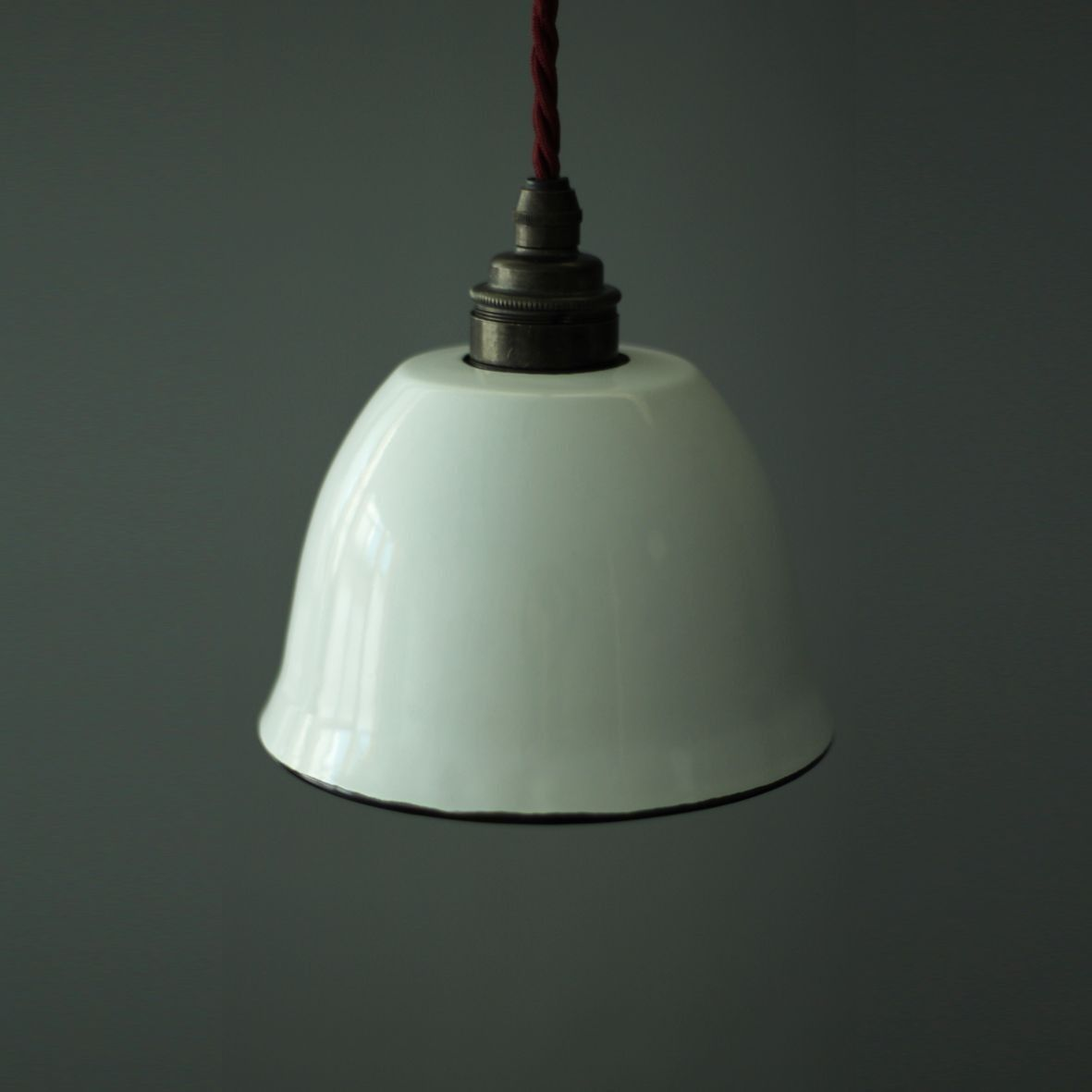 Small enamel lamp shade white view all lighting my new small enamel lamp shade white lighting aloadofball Gallery