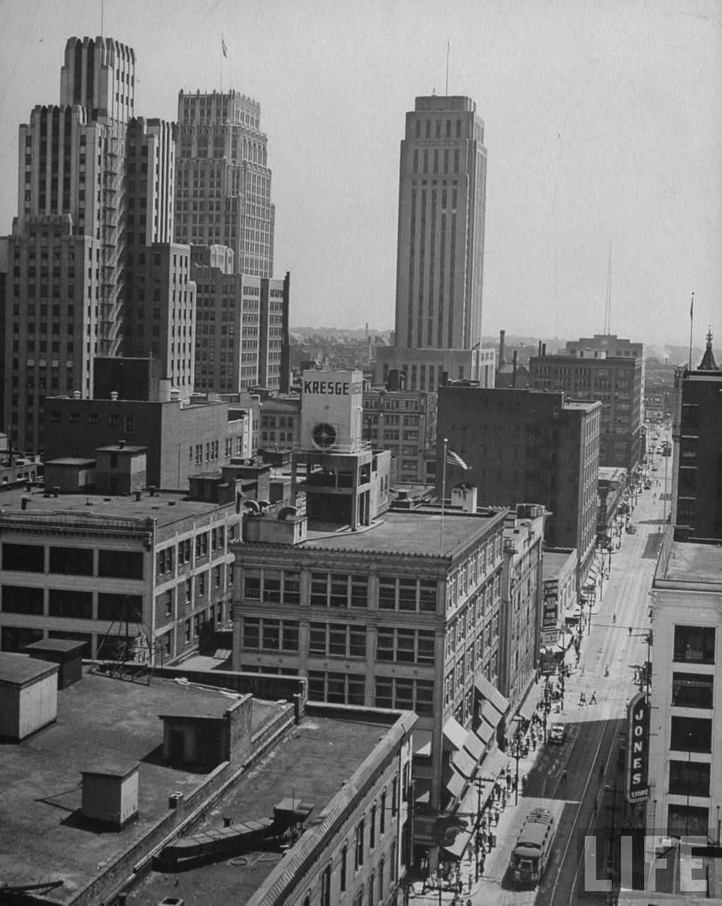Old Photos Kansas City 1945 Kansas City Downtown Kansas City