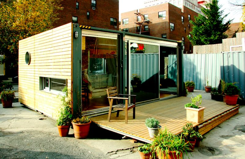 container architecture cargotecture NYC - Small Container Home ...