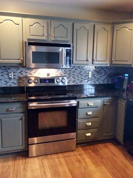 Best Kitchen Before And Afters 2014 Honey Oak Cabinets