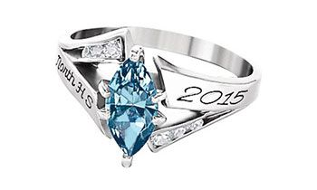Serenity S60 Graduation Rings Class Rings For Girls Class