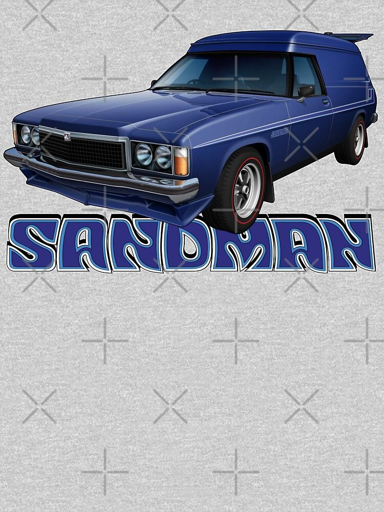 hz holden sandman panel van windsor blue essential t shirt by tshirtgarage in 2020 blue tshirt holden van hz holden sandman panel van windsor