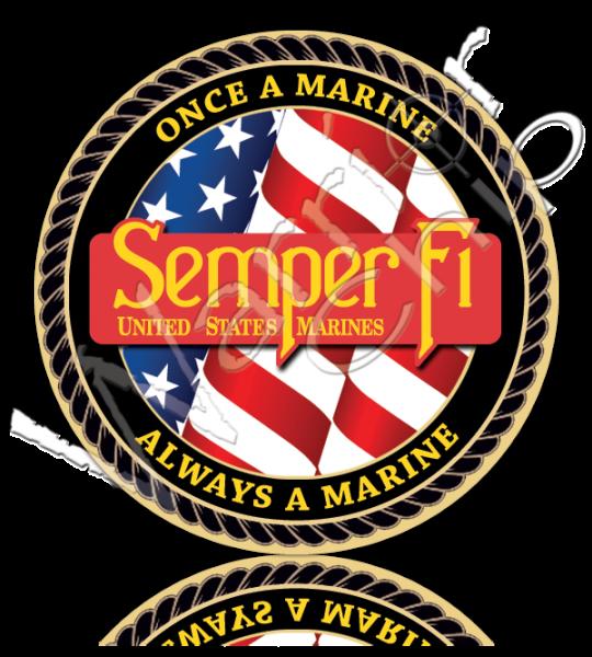Marine Corps Military Poker Chips Custom Poker Chips Usmc