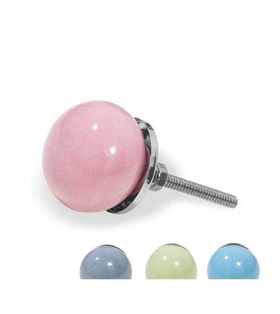 3,45 u20ac - Bouton de porte en porcelaine de la forme du0027une bille - bouton de porte meuble salle de bain