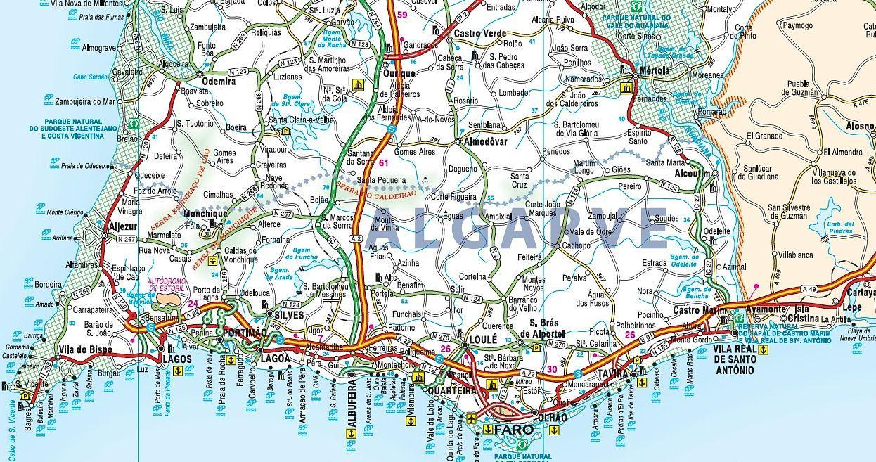 Faro Portugal Map Google Search Travel Pinterest Portugal - Portugal map lisbon to algarve