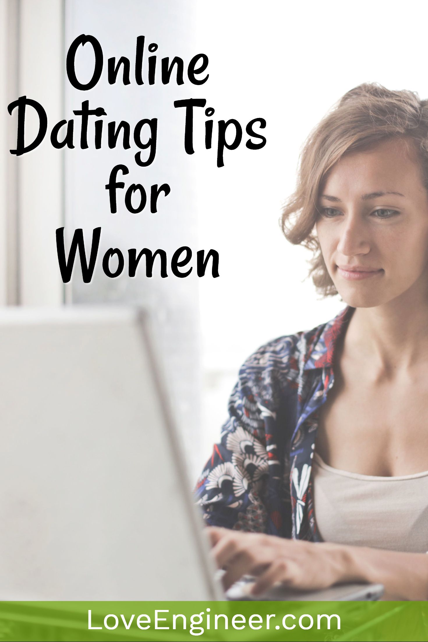 Online dating tip for woman
