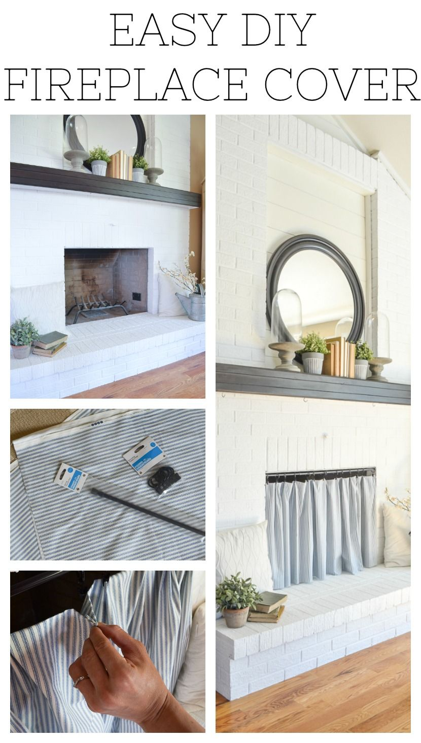 Easy Diy Fireplace Cover Fireplace Cover Diy Fireplace Classic Fireplace