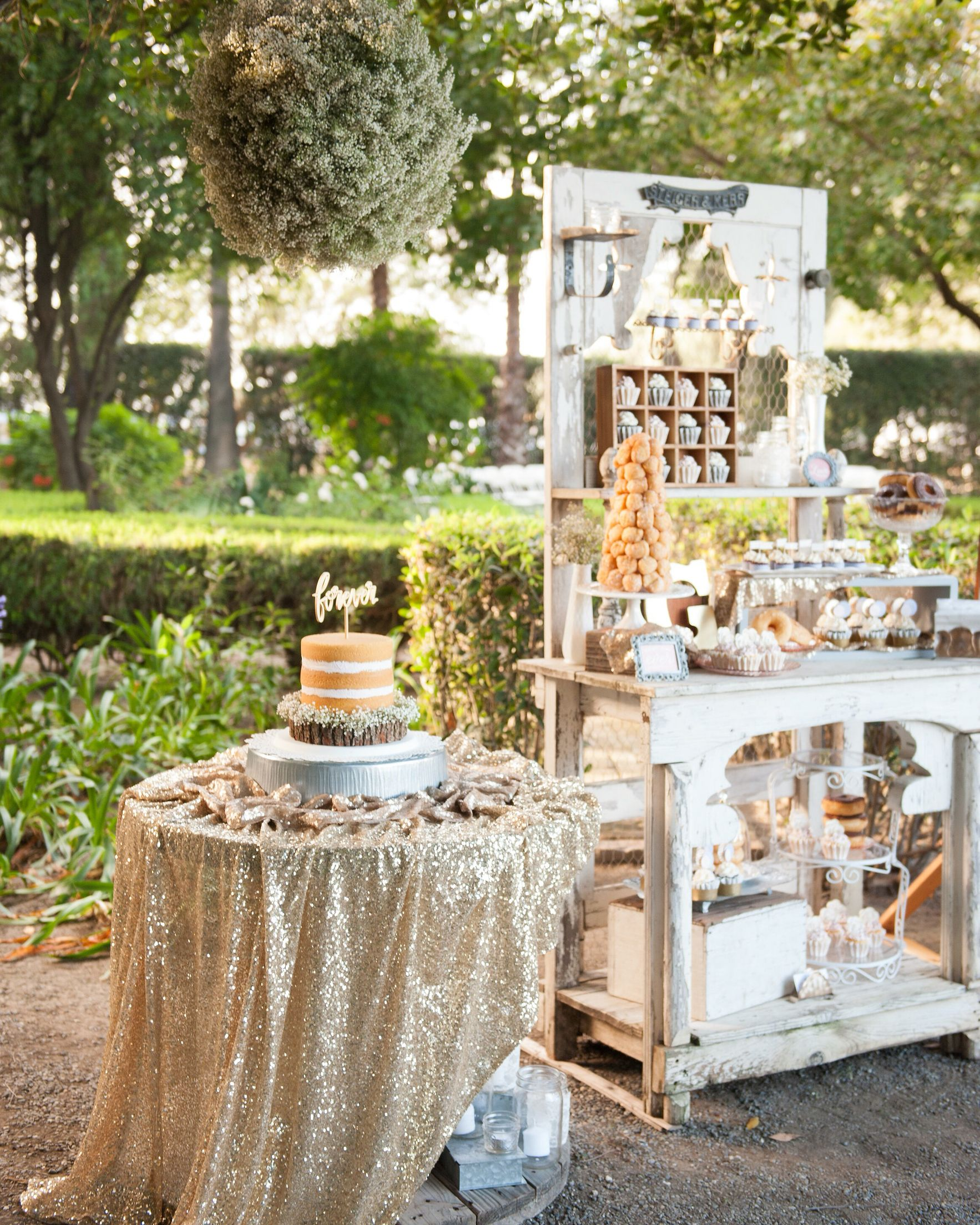 dessert table / dessert bar , donuts, cupcakes, cookies & more