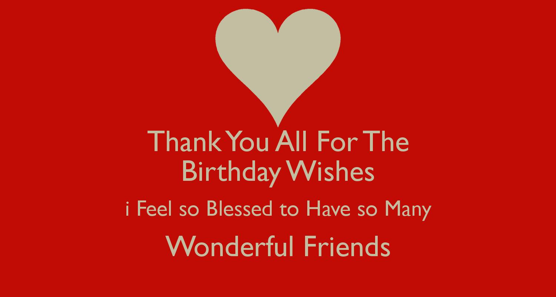 Thankyouallforthebirthdaywishesi birthday party