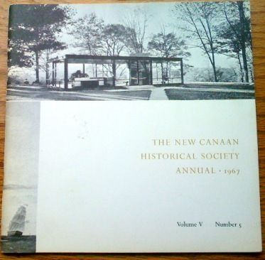 New Canaan Historical Society Annual 1967