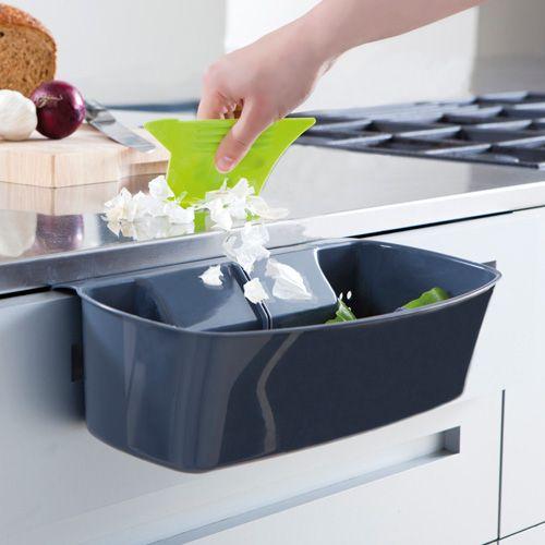 Cool Kitchen Stuff: Worktop Wonder: Portable Countertop Waste Bin