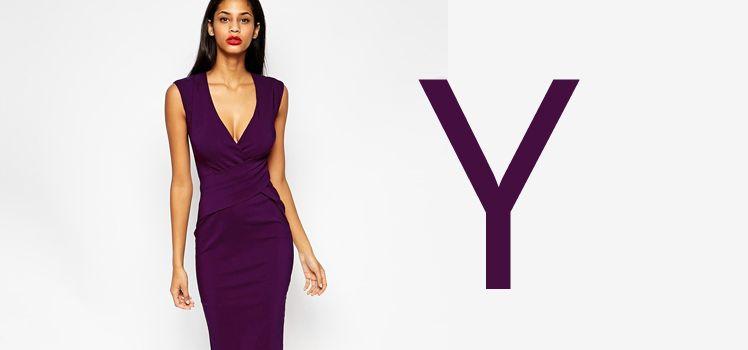 Welches Kleid bei breiten Schultern - Der Y Figurtyp