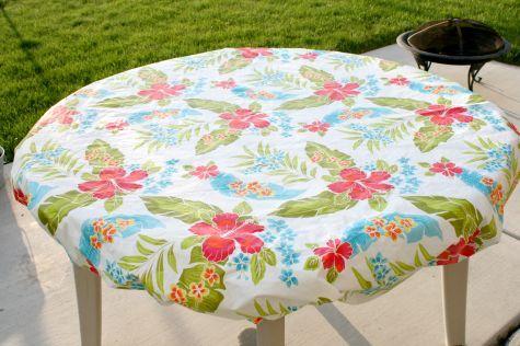 Outdoor Tablecloth Hack Craft Room Organization Outdoor