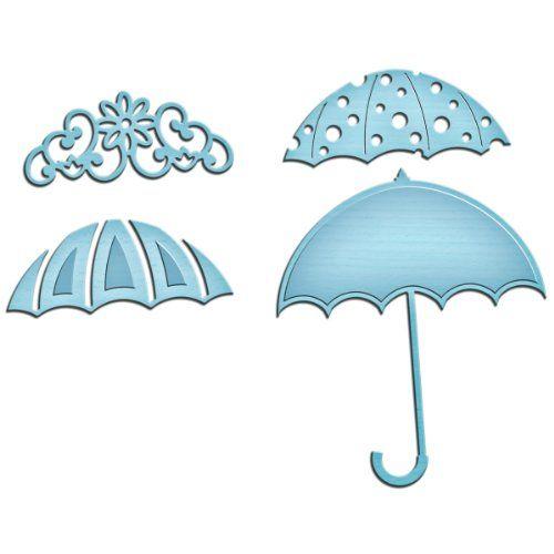 Spellbinders In Shapeabilities Die Template Umbrella Trio