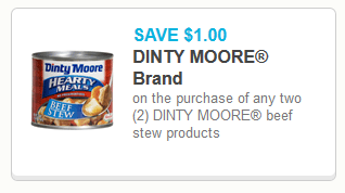 rare new coupon 1 2 dinty moore beef stew with images on benjamin moore coupon id=48315