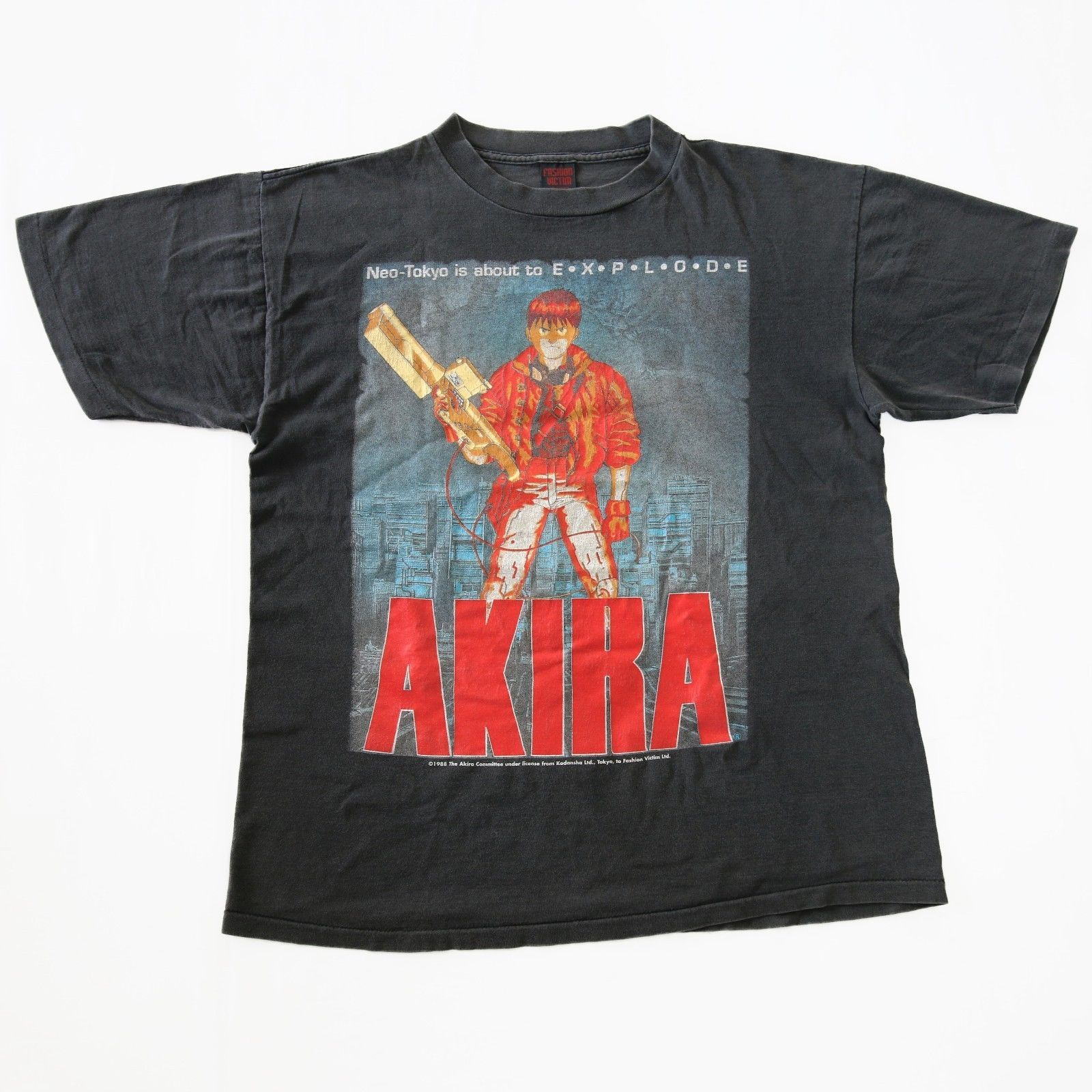 a92640dc92 Vintage 90s AKIRA 1988 Akira Committee Fashion Victim T-Shirt for sale!  http: