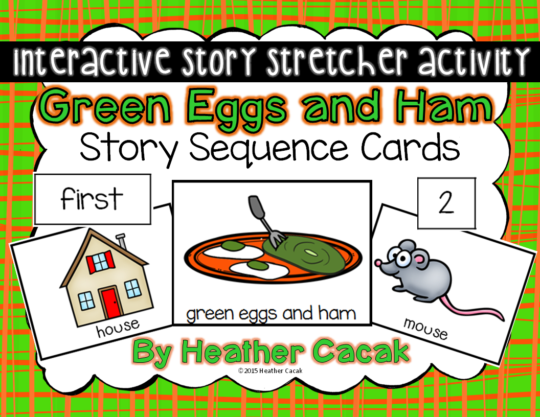 Green Eggs And Ham Story Stretcher Sequence Cards