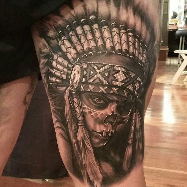 Pin Von Panzo Auf Indian Tattoos Indianische 13