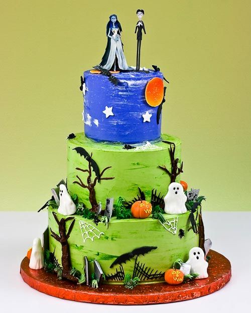 Corpse bride cake Halloween Sweets Treats Pinterest