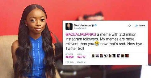 Skai Jackson Just Shut Down Azealia Banks In The Most
