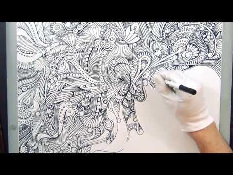 (: Dry Erase Board ART Shenanigans :) - YouTube