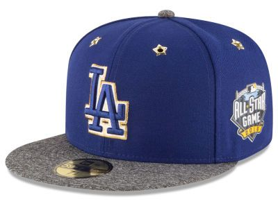 Los Angeles Dodgers New Era 2016 Mlb All Star Game Patch 59fifty Cap Fitted Hats Dodgers La Dodgers Cap