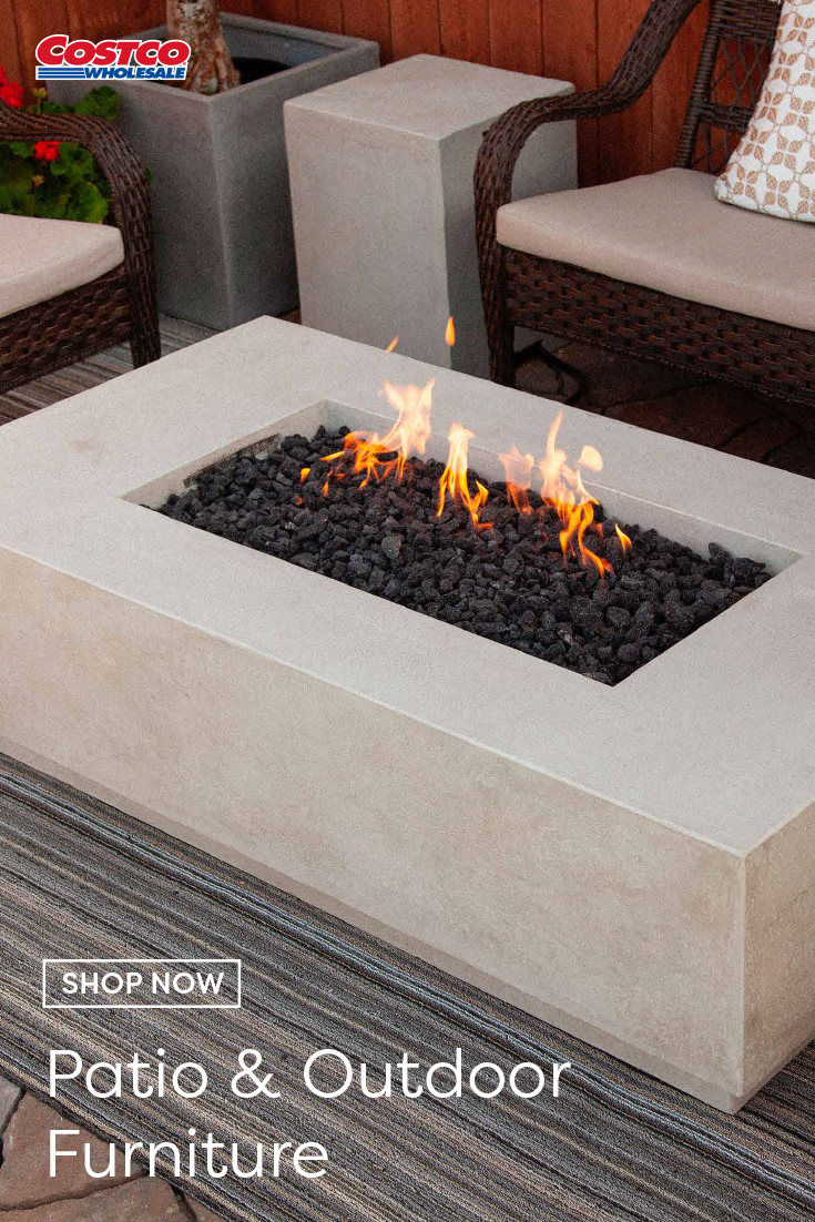 Arroyo Gas Fire Table With Liquid Propane Enclosure In 2020 Fire Table Gas Fire Table Outdoor Retreat