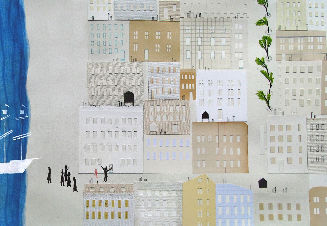 Valerio Vidali | Illustration, Picture book, Collage illustration
