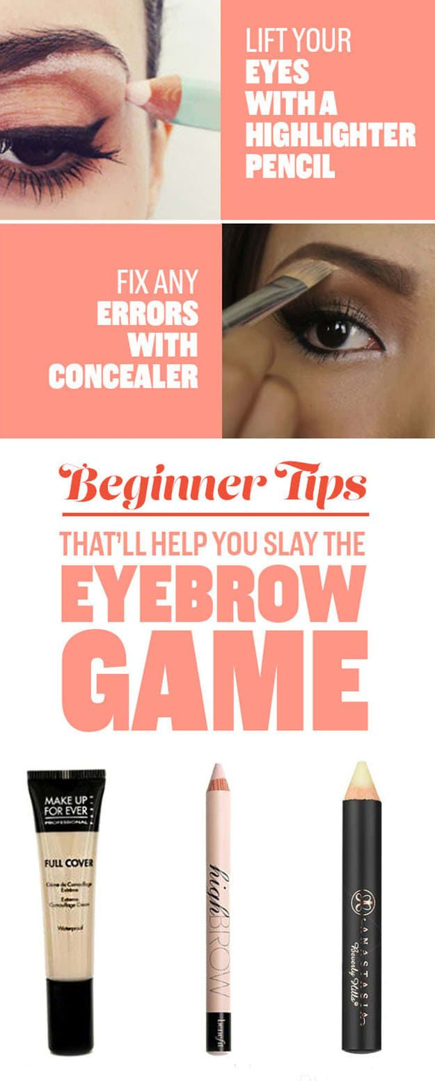 10 Tips For Beginners Thatll Make Your Eyebrows Fleeker Than Fleek