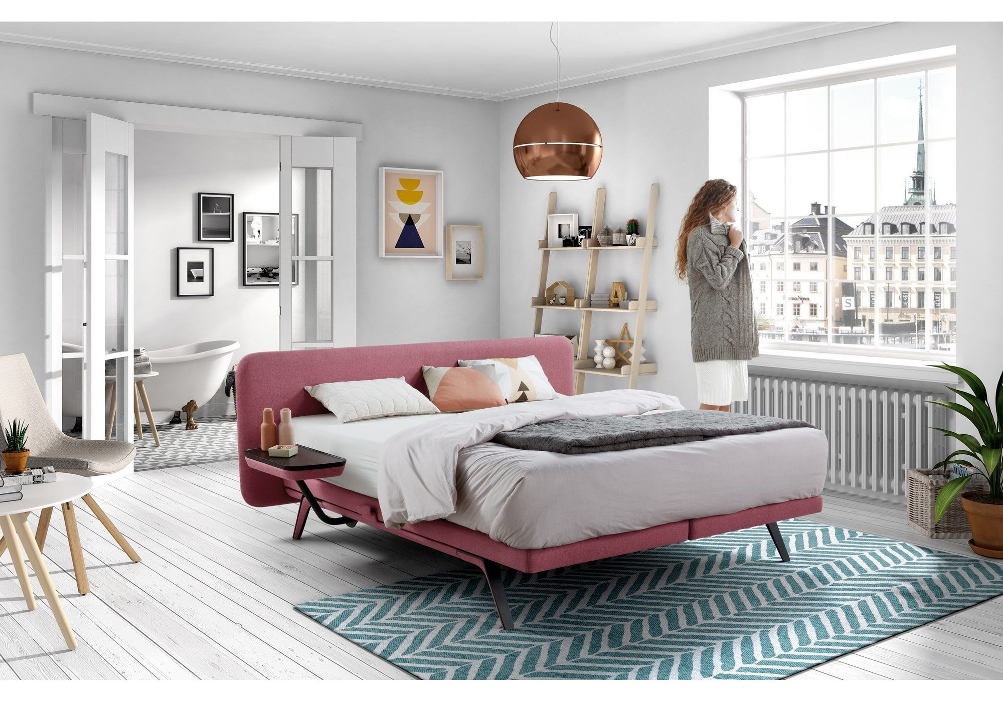 Velda Polster Boxspringbett Modell Finesse Massiv Bett