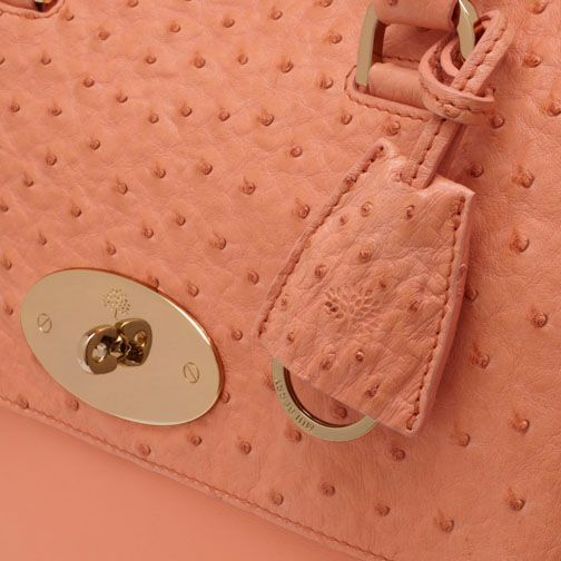Mulberry Bags in Bright Apricot for Spring Summer 2013